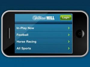 мобильное приложение, William Hill